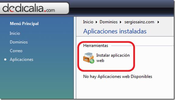 instalar wordpress-instalar aplicacion web