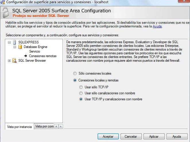 sql server 2008-2005-configuracion
