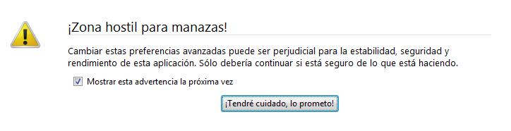 Optimizar el consumo de recursos de Firefox-I