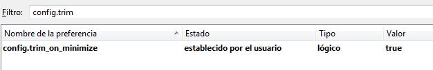 Optimizar el consumo de recursos de Firefox-IV