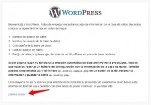 instalar una plantilla de WordPress-II