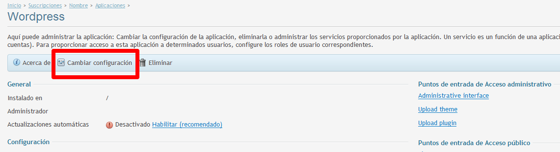 instalar wordpress en plesk-IV