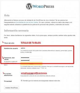 instalar una plantilla de WordPress-hosting