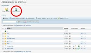 instalar una plantilla de WordPress-subir wordpress