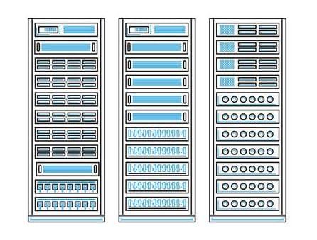 Elige un cluster de servidores para tu proyecto web