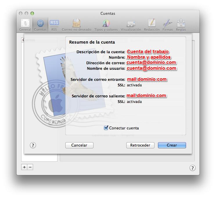 Configurar-cuenta de correo-Mail-linube