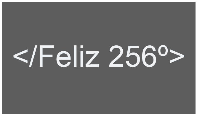 dia del programador-feliz 256-8 bits-linube
