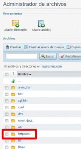 instalar una plantilla de WordPress-httpdocs