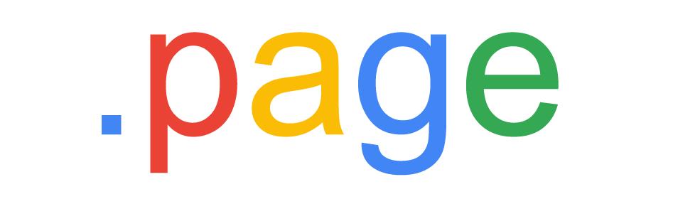 Google lanza los dominios . page