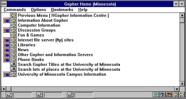 Protocolo Gopher, el antecesor de HTTP