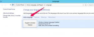 Cambiar el lenguaje en Windows Server 2012