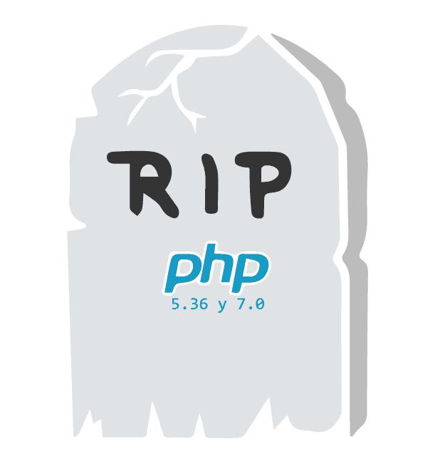fin soporte de seguridad de php 5.6 y 7.0