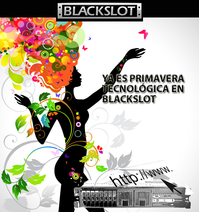 Servicios de hosting en Blackslot