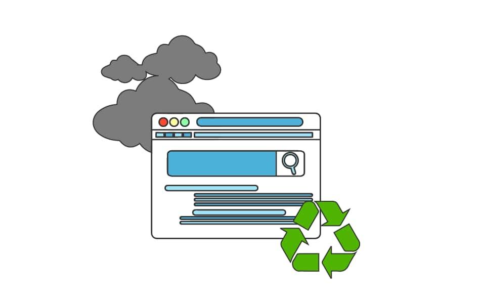 ¿Las webs abandonadas contribuyen a la contaminación?