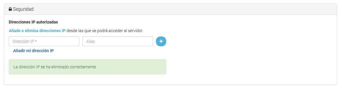Eliminar una IP para que no tenga acceso por SSH.