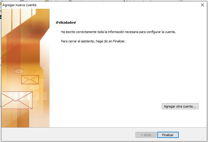 Configuración Outlook 2010 IMAP