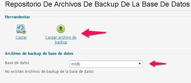 Restaurar una BBDD SQL Server
